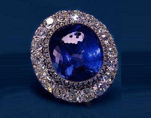 maria alexandrovna sapphire brooch