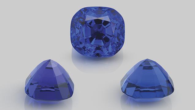 pleochroism faceted gemstone