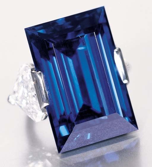 famous rockefeller sapphire