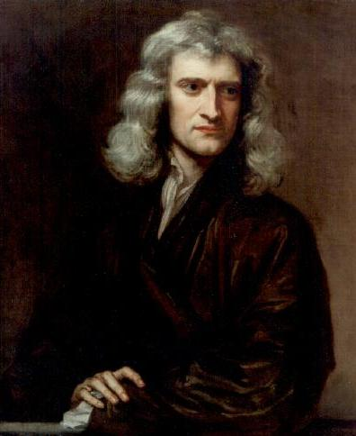 sir isaac newton portrait