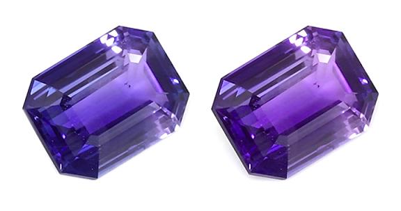 emerald cut color change sapphire