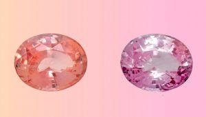 padparadscha fading sapphire