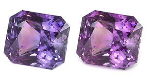 radiant cut color change sapphire