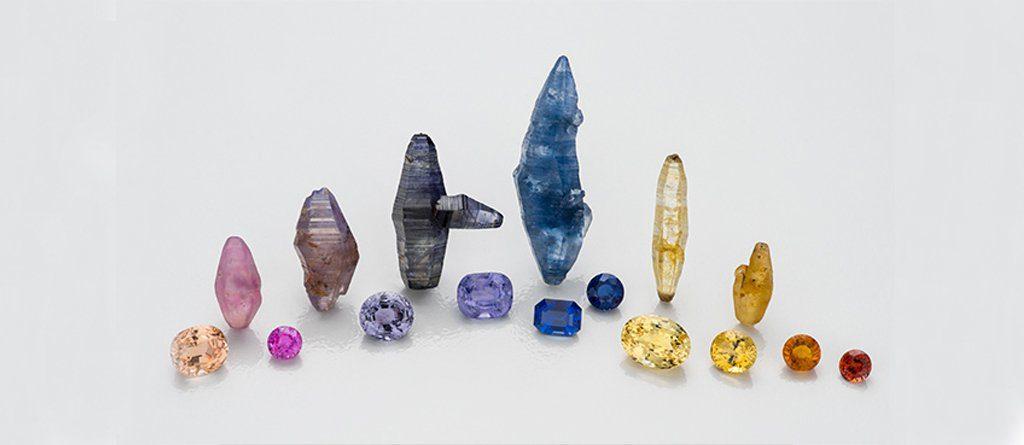 sapphire crystal gemstones