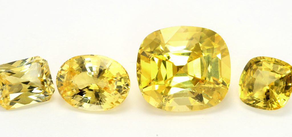 yellow sapphires natural untreated