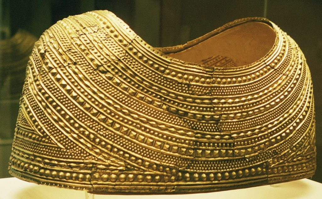gold breastplate features