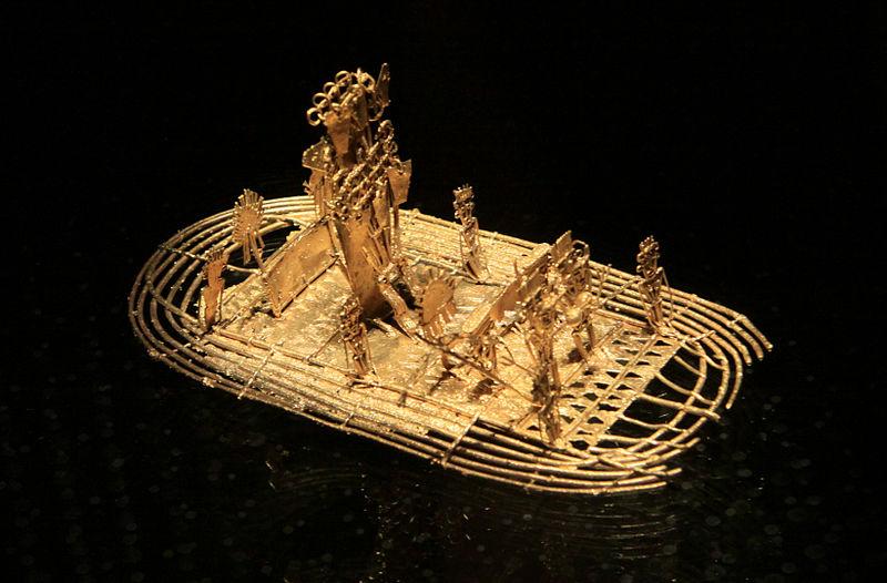 muisca el dorado raft