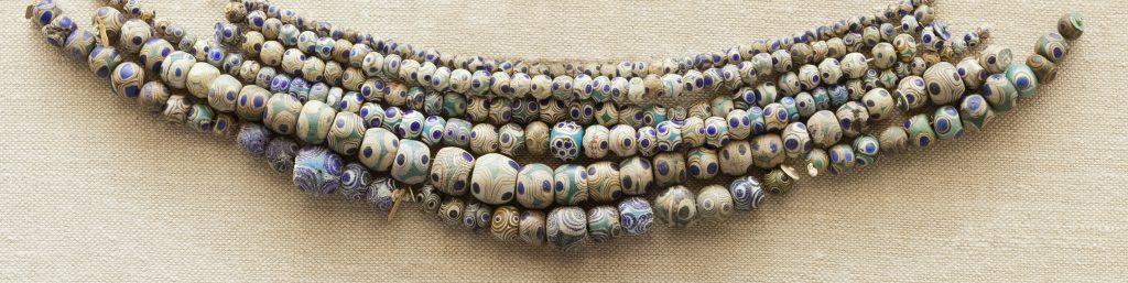 beaded mid century bracelets