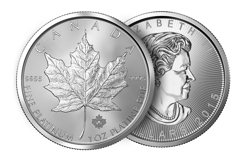 canadian maple leaf platinum coin