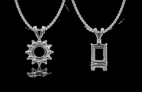 Custom Jewelry Settings for Sapphires