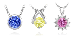 Sapphire necklaces the natural sapphire company sapphire necklaces pendants aloadofball Image collections