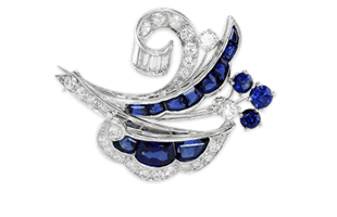 Sapphire Brooches