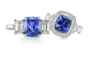 watch ceylon srilanka ring real star blue sapphire big natural size diamond certified gold