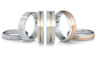 Plain Bands (without gemstone)